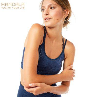 Mandala Fashion Slim Studio Bh Bra 2021 glitter marine