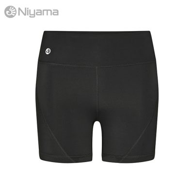 Niyama Biker Short Yoga Tights Black