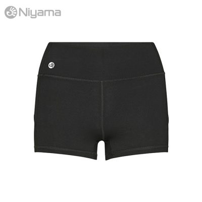 Niyama Gym Shortie, Short Yoga Tights Black