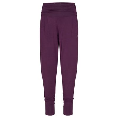 Yamadhi Loose Modal Yoga Pants Deep Purple
