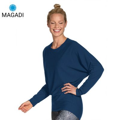 Magadi Yoga Sweater Anna blau