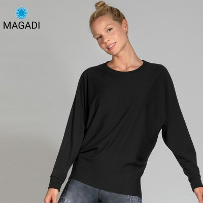Magadi Yoga Sweater Anna schwarz