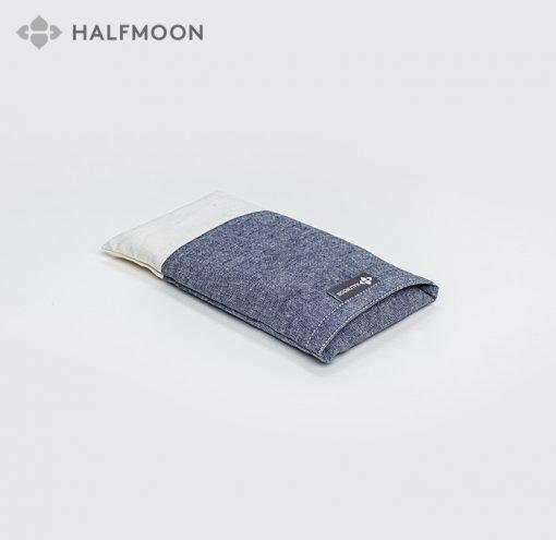 Halfmoon Lavendel Augenkissen - Surf & Ivory