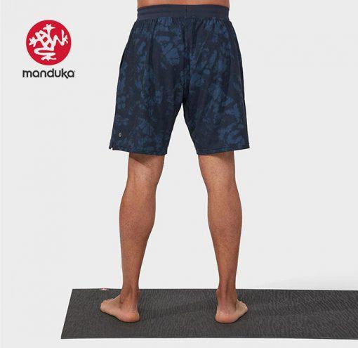 Manduka Agility Pro Short Navy Tie Dye Herren