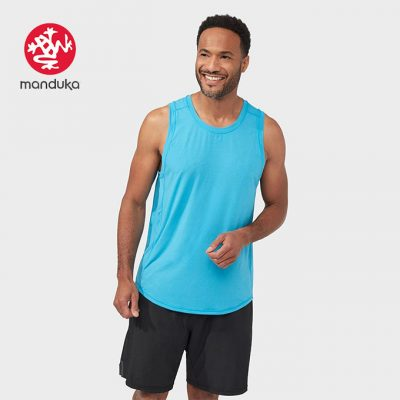 Manduka Tech Tank Top Dresden Blue