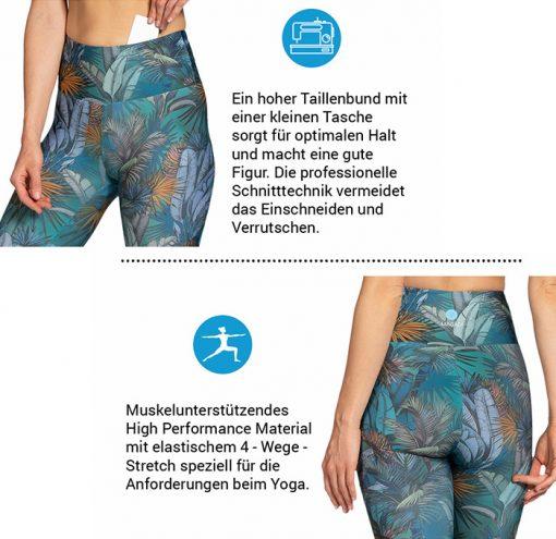 Magadi Yoga Leggings Eigenschaften Details