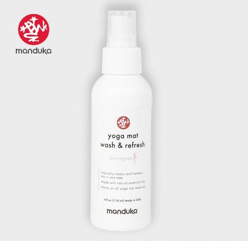 Manduka Mat Wash and Refresh All Mats Cleaner 2021 Lemongrass