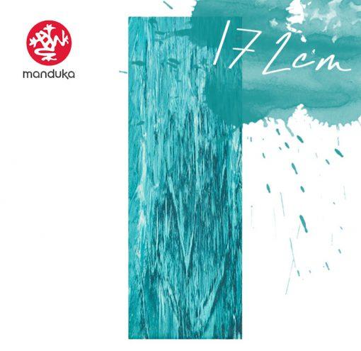 Manduka Superlite Travel Naturkautschuk Yogamatte bondi blue marbled