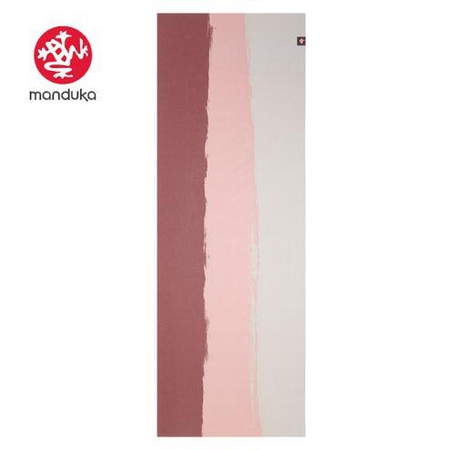 Manduka Superlite Travel Naturkautschuk Yogamatte clay stripe