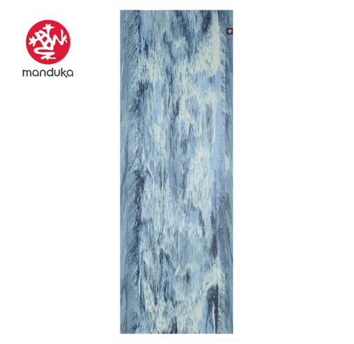 Manduka Superlite Travel Naturkautschuk Yogamatte Sea Form Marbled