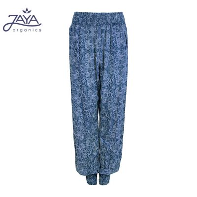 Jaya Fashion Ananda Yoga Pants paisleybluegrey