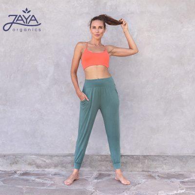 Jaya Fashion Yoga Pants Sahara Pinegreen