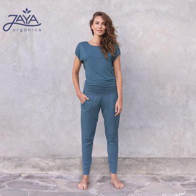 Jaya Fashion Raya Yoga Jumpsuit Petrol