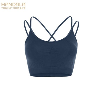 Mandala Fashion Yoga Slim Studio Bra Marine