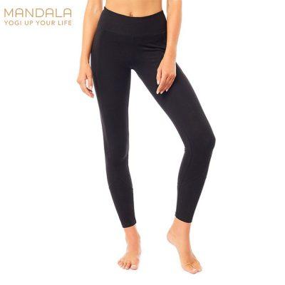 Mandala Fashion Yoga Pocket Tights Black