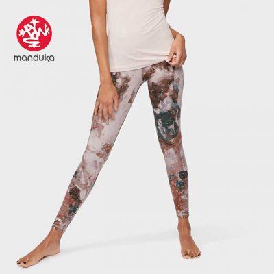 Manduka Yoga Legging Luminance Foil