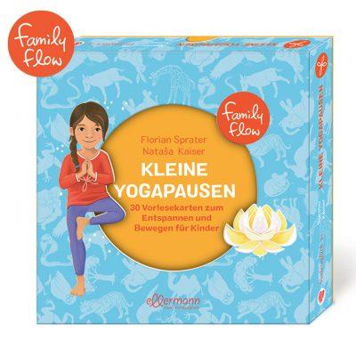 FamilyFlow Kleine Yogapausen Vorlesekarten Kinder Meditation