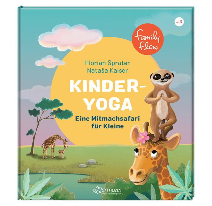 FamilyFlow Mitmach Kinderyoga Buch