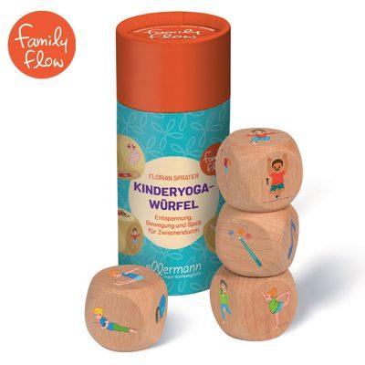 FamilyFlow Yogawürfel Kinder Spiel Set