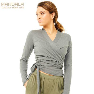 Mandala Fashion Easy Wrap grey