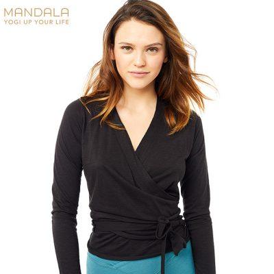 Mandala Fashion Easy Wrap black