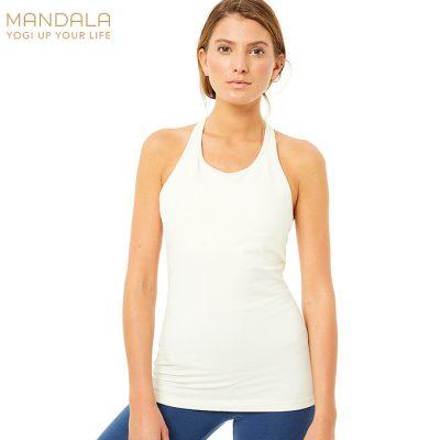 Mandala Fashion Extra Long Top vanilla