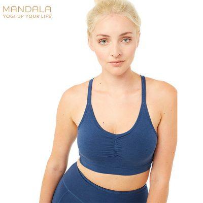 Mandala Fashion Infinity Bra Yoga Bh Blue