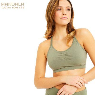 Mandala Fashion Infinity Bh Yoga Bra Thyme