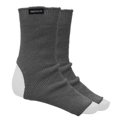 Yoga Socke Baumwolle Graphite