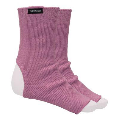 Yoga Socke Baumwolle Rose