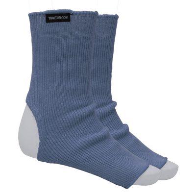 Yoga Socke Baumwolle Saphire Blue