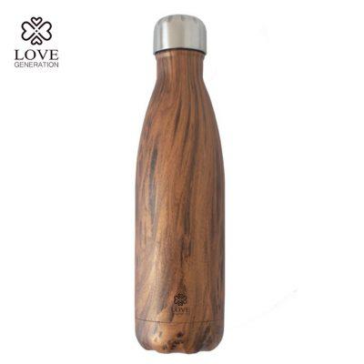 Love Generation Trank Flasche Isoliert Holz Design