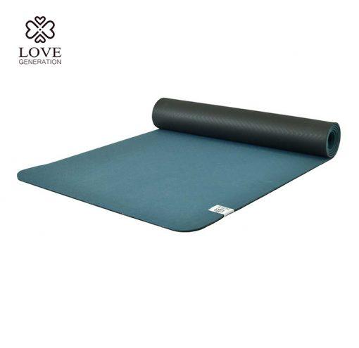 Love Generation Eco TPE Yogamatte Brilliant Blue