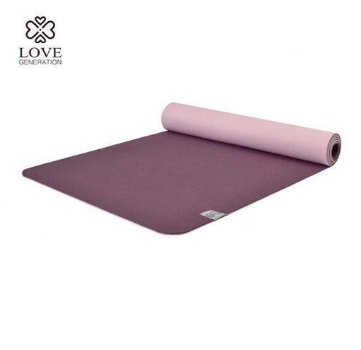 Love Generation Eco TPE Yogamatte Passionate Purple