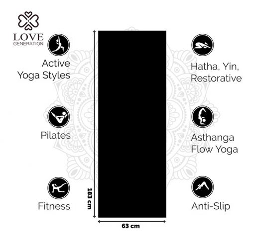 Love Generation Basic Anfänger Yogamatte For all use