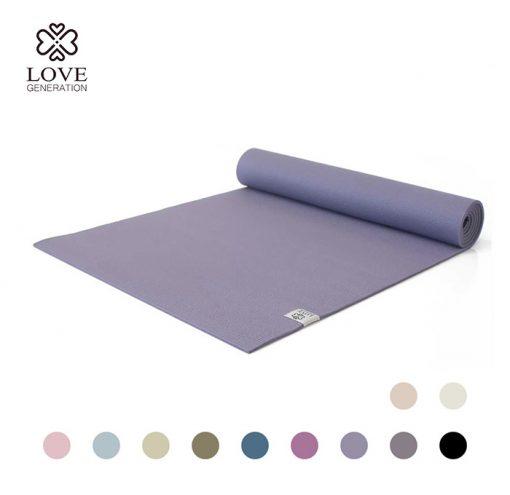 Love Generation Basic Anfänger Yogamatte Lavendel